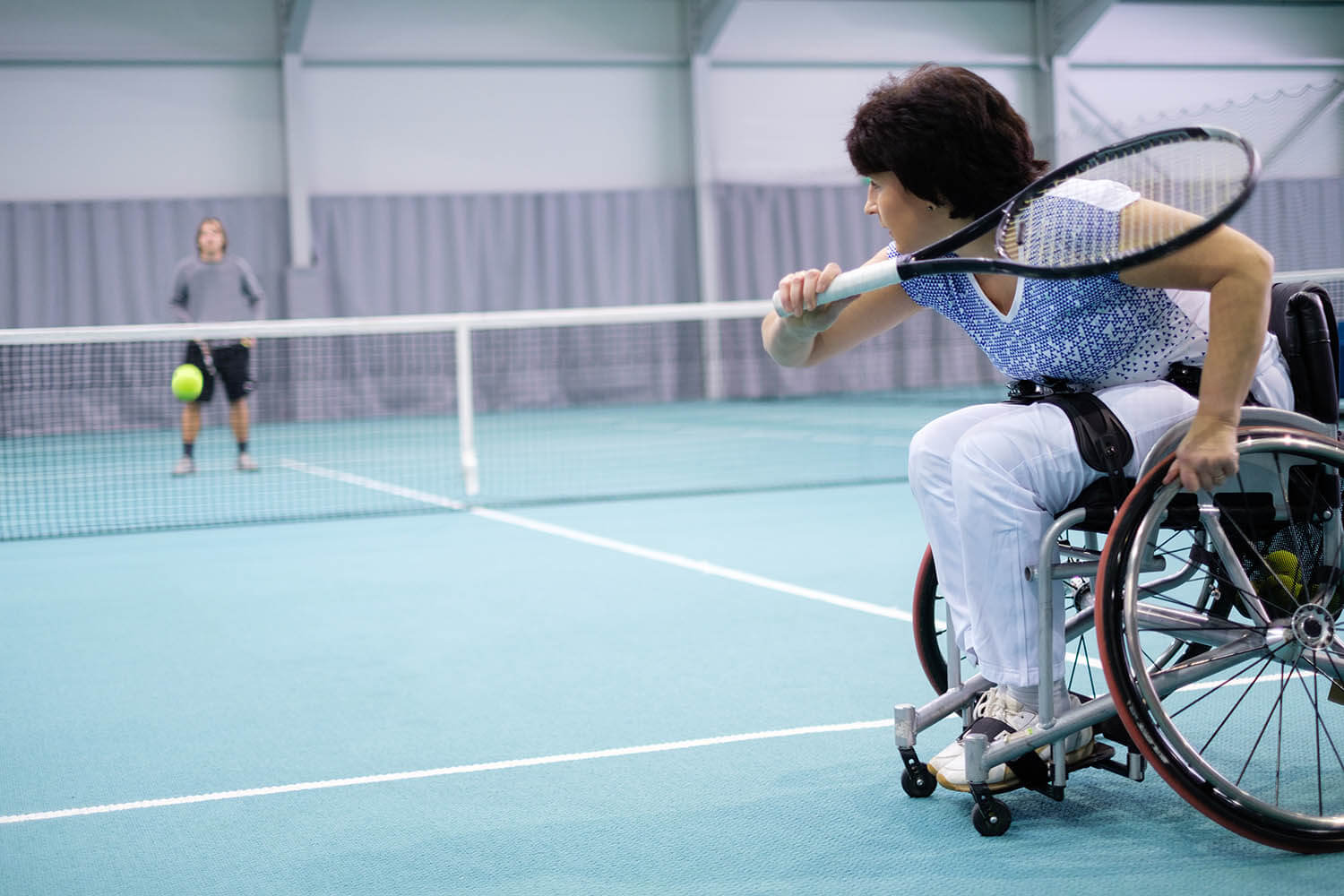 Accessible racket sports at Eastbourne Sports Park