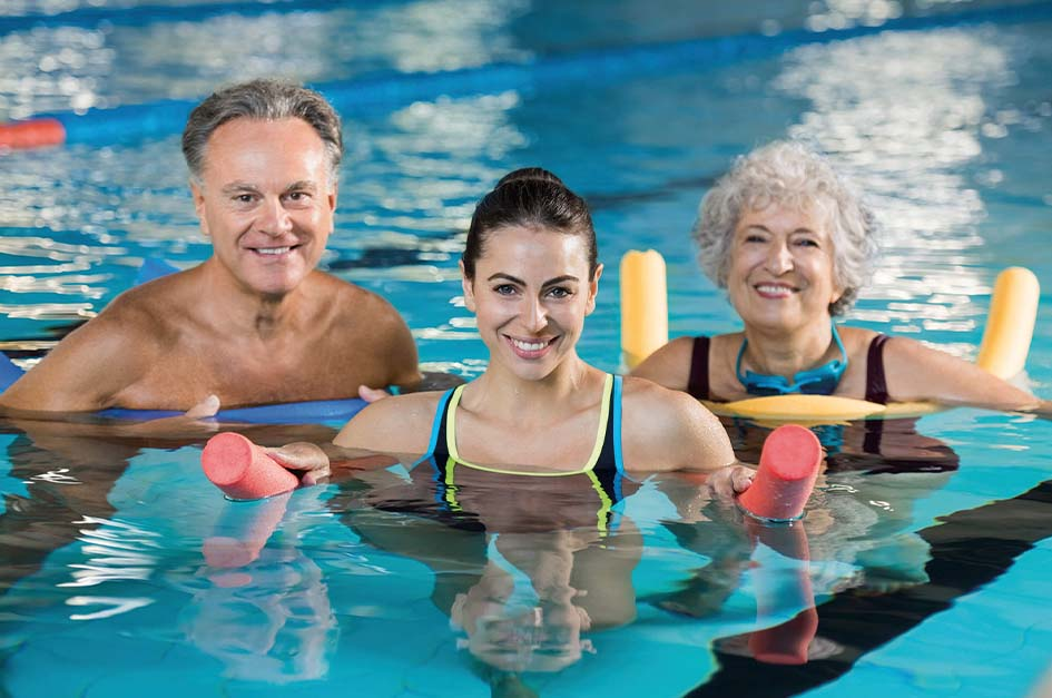 Adult lessons at Motcombe Swimming Pool