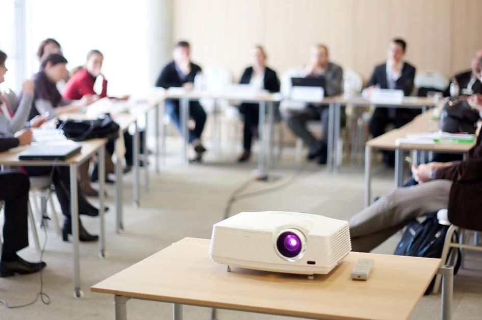 Projector in Meeting Room